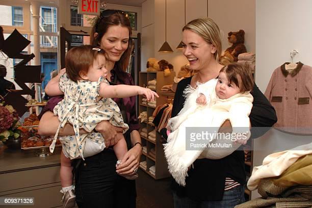 Ursula Rowland Plum Sykes Vanessa Trump and Kai Trump attend BONPOINT Celebrates the Bleecker Street Store Opening at Bonpoint on September 17 2007...