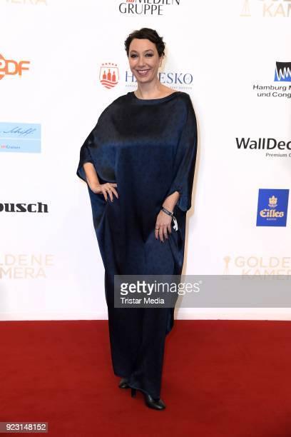 Ursula Strauss attends the Goldene Kamera on February 22 2018 in Hamburg Germany