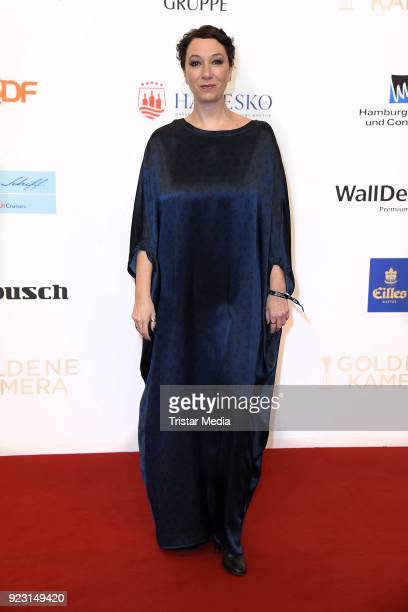 Ursula Strauss attends the Goldene Kamera on February 22 2018 in Hamburg Germany