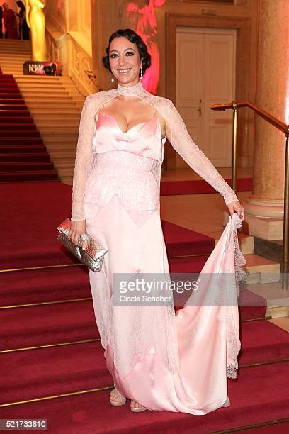 Ursula Strauss during the 27th ROMY Award 2015 at Hofburg Vienna on April 16 2016 in Vienna Austria