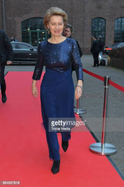 Ursula von der Leyen attends the Steiger Award at Zeche Hansemann on March 17 2018 in Dortmund Germany