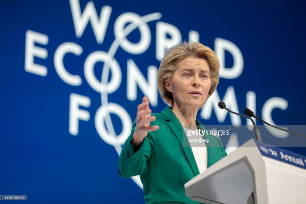 Day Two Of The World Economic Forum (WEF) 2020 : News Photo