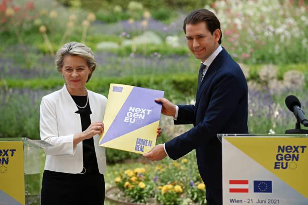 AUT: Ursula von der Leyen Visits Austria As Part Of EU Tour