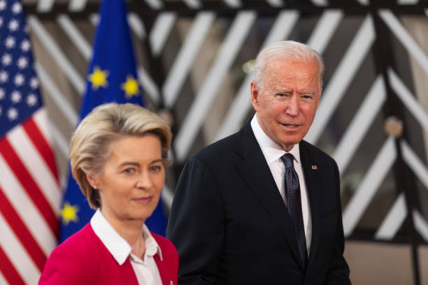 BEL: U.S. President Biden at European Union Leaders Summit