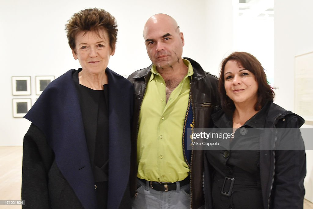 Ursula von Rydingsvard (L) attends the Max Mara celebration of the opening of the Whitney Museum of American Art at its new location on April 24, 2015 in New York City.