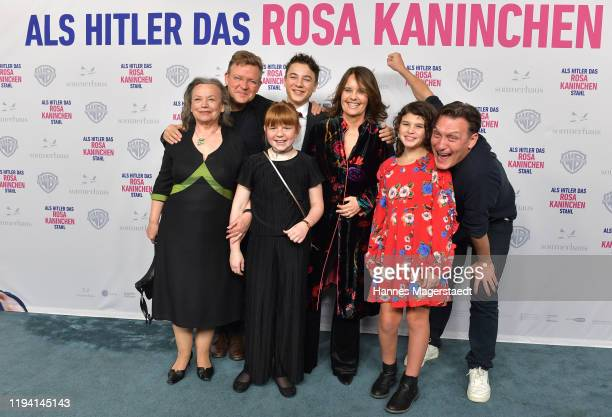 Ursula Werner Justus von Dohnanyi Marinus Hohmann Hannah Kampichler Caroline Link Riva Krymalowski and Oliver Masucci attend the premiere of Als...