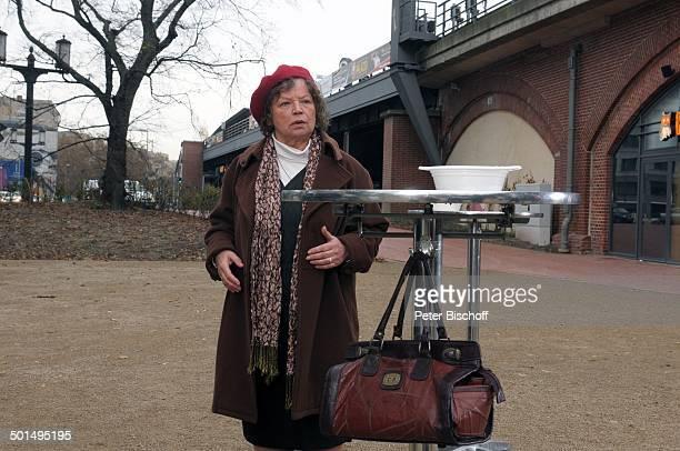 Ursula Werner Kurzfilm Ein Teller Suppe Berlin Deutschland Europa Film Szene Imbiss Schauspielerin Promi BB CD PNr 1809/2009