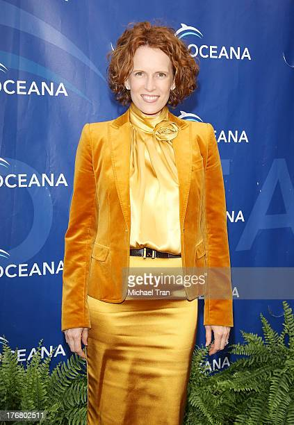 Ursula Whittaker arrives at the 6th Annual Oceana's Annual SeaChange Summer Party held at a private residence on August 18 2013 in Laguna Beach...