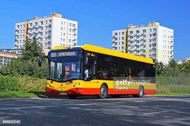 Ursus electric bus in motion