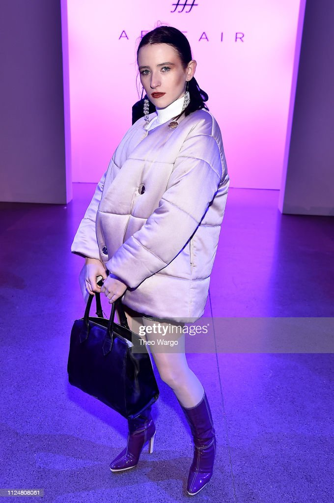 Afffair - Front Row - February 2019 - New York Fashion Week: The Shows : News Photo