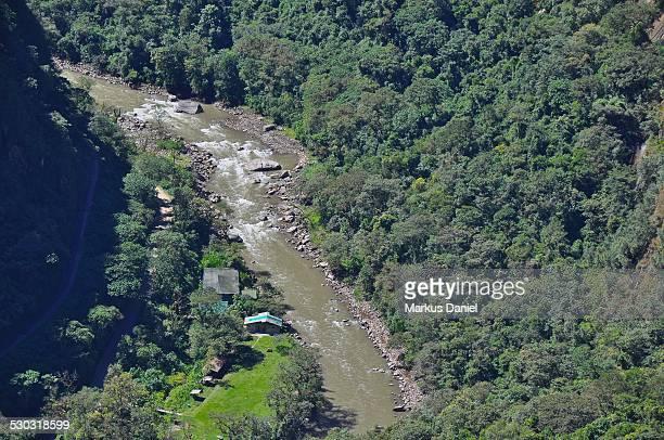 Urubamba River in Machu PIcchu