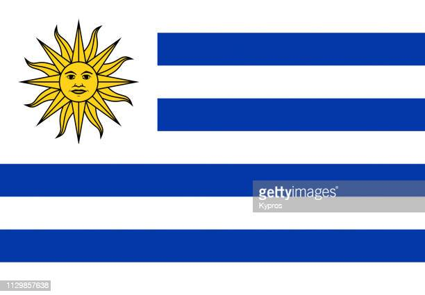 uruguay flag - uruguay stock pictures, royalty-free photos & images