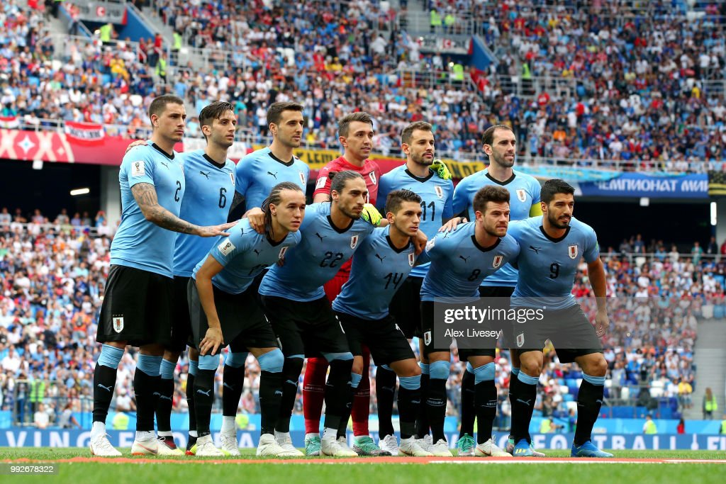 Uruguay v France: Quarter Final - 2018 FIFA World Cup Russia : ニュース写真