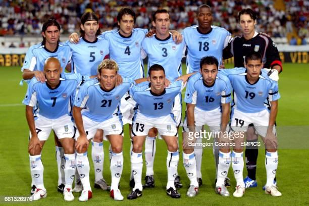 Uruguay team group