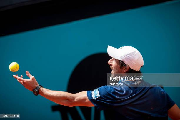 Uruguayan Pablo Cuevas during Mutua Madrid Open 2018 at Caja Magica in Madrid, Spain. May 08, 2018.