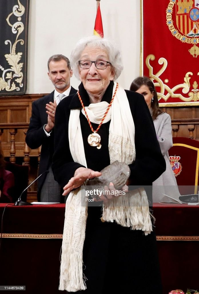 ESP: Spanish Royals Attend 'Miguel de Cervantes' Literature Awards