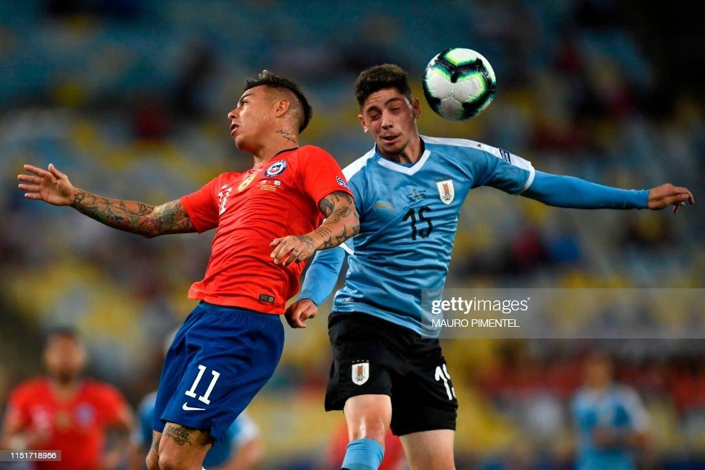 FBL-COPA AMERICA-2019-CHI-URU : News Photo