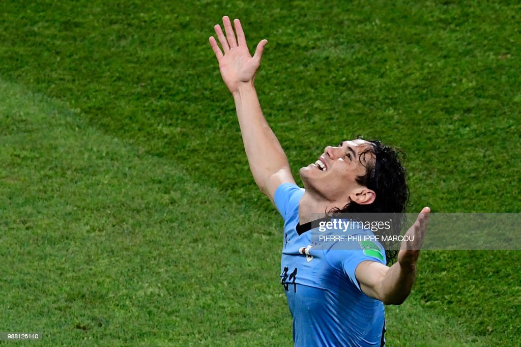 TOPSHOT-FBL-WC-2018-MATCH49-URU-POR : News Photo