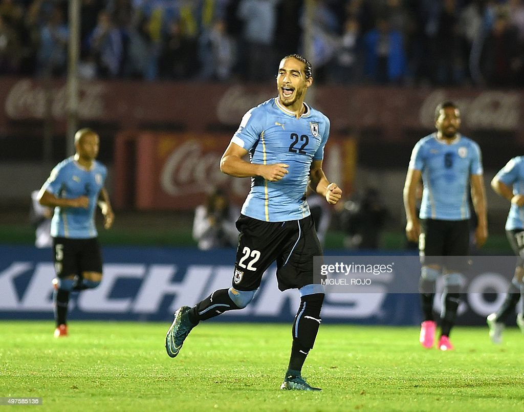 Most Inspiring Chile World Cup 2018 - uruguays-martin-caceres-celebrates-after-scoring-against-chile-during-picture-id497585136  Trends_654443 .com/photos/uruguays-martin-caceres-celebrates-after-scoring-against-chile-during-picture-id497585136