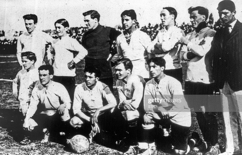 Uruguay's national soccer team who won t : News Photo