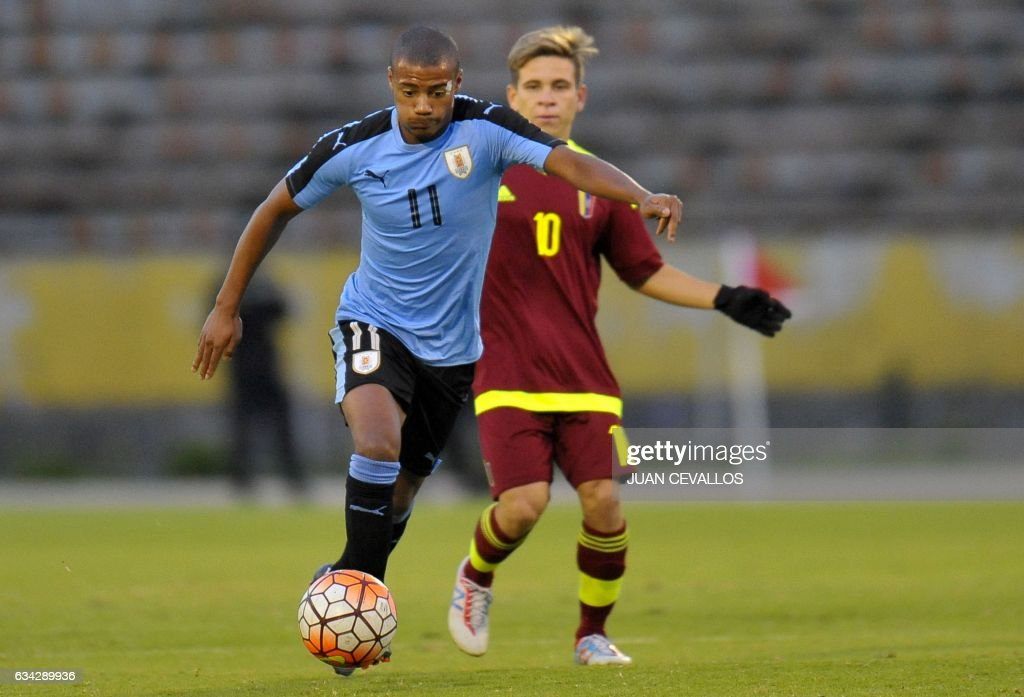 FBL-U20-URU-VEN : News Photo