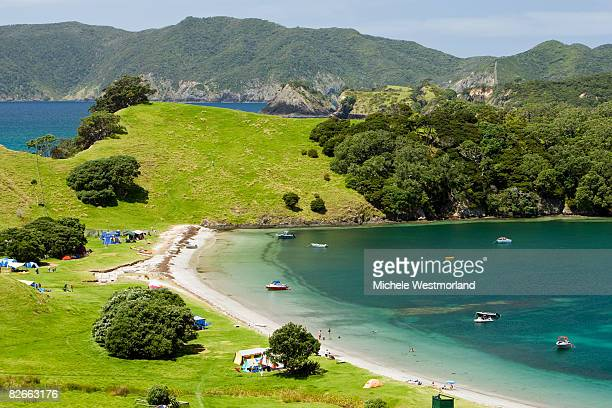 Urupukapuka Island, Bay of Islands, New Zealand