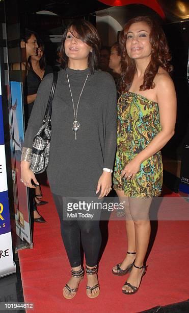 Urvashi Dholakia and Taraana Raja at the premiere of the film Sex and The City in Mumbai on June 9, 2010.