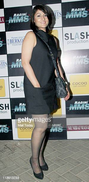 Urvashi Dholakia at Ekta Kapoor's 'Threesome' bash to promote movie 'Ragini MMS' at Cest La Vie, Bandra on May 9, 2011.