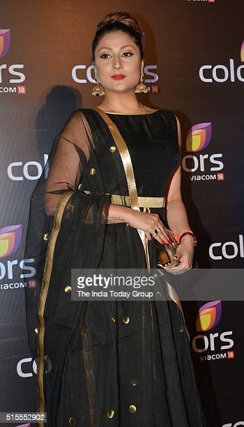 Urvashi Dholakia at the annual party by Colors Tv in Mumbai.