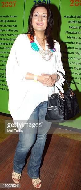 Urvashi Dholakia attends Lakme Fashion Week Winter/Festive 2012 at Grand Hyatt in Mumbai on 7th August, 2012.