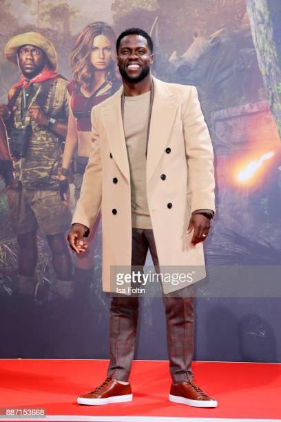 Us actor Kevin Hart attends the German premiere of 'Jumanji Willkommen im Dschungel' at Sony Centre on December 6 2017 in Berlin Germany