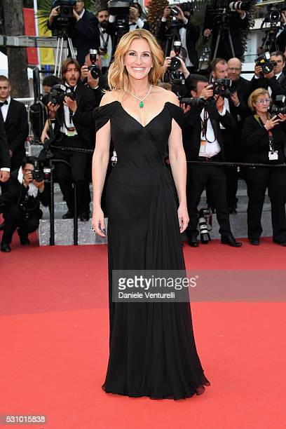 Us actress Julia Roberts attends the 'Money Monster' premiere during the 69th annual Cannes Film Festival at the Palais des Festivals on May 12 2016...