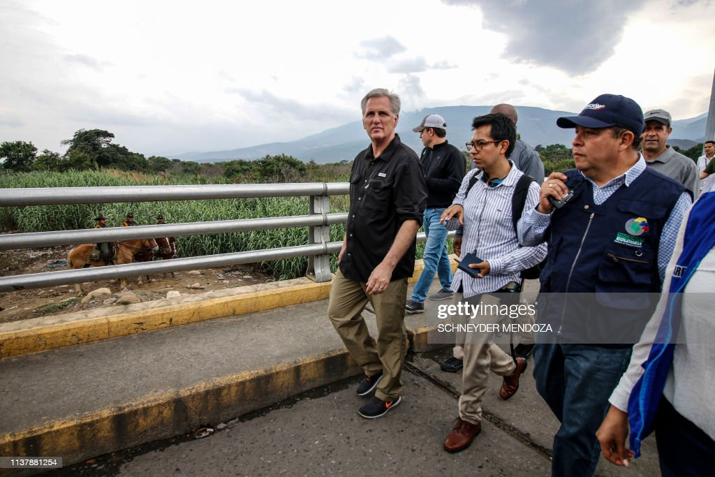 COLOMBIA-VENEZUELA-US-KEVIN MCCARTHY : News Photo