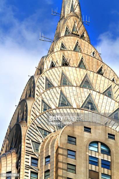 Usa, New York, Manhattan. Chrysler Building