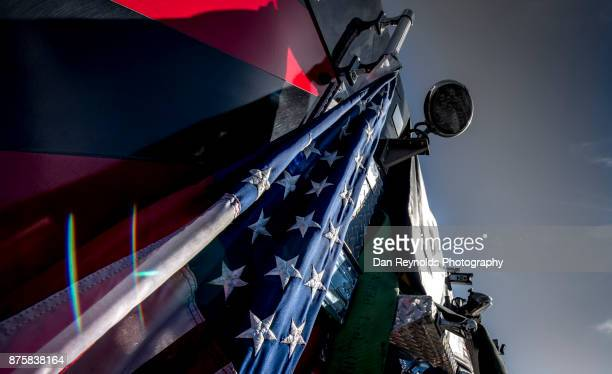 USA,American Flag,Firetruck