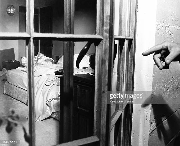 UsaCaliforniaHollywood Marilyn Monroe S Bedroom From The Exterior After Her Death August 1962