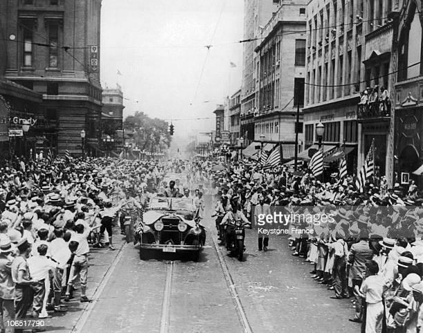 UsaGeorgiaAtlanta Ticker Tape Parade For Golfer Bobby Jones July 16Th 1930