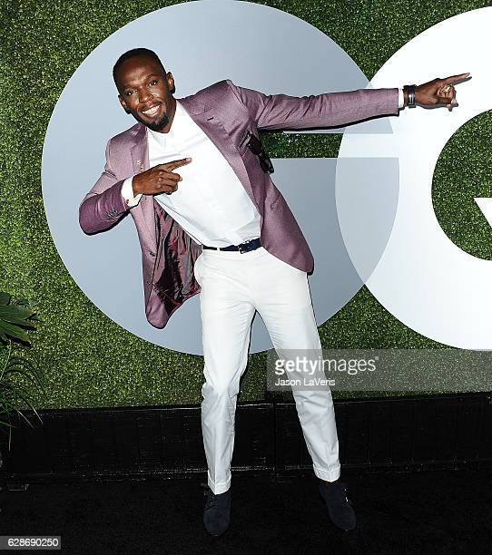 Usain Bolt attends the GQ Men of the Year party at Chateau Marmont on December 8 2016 in Los Angeles California