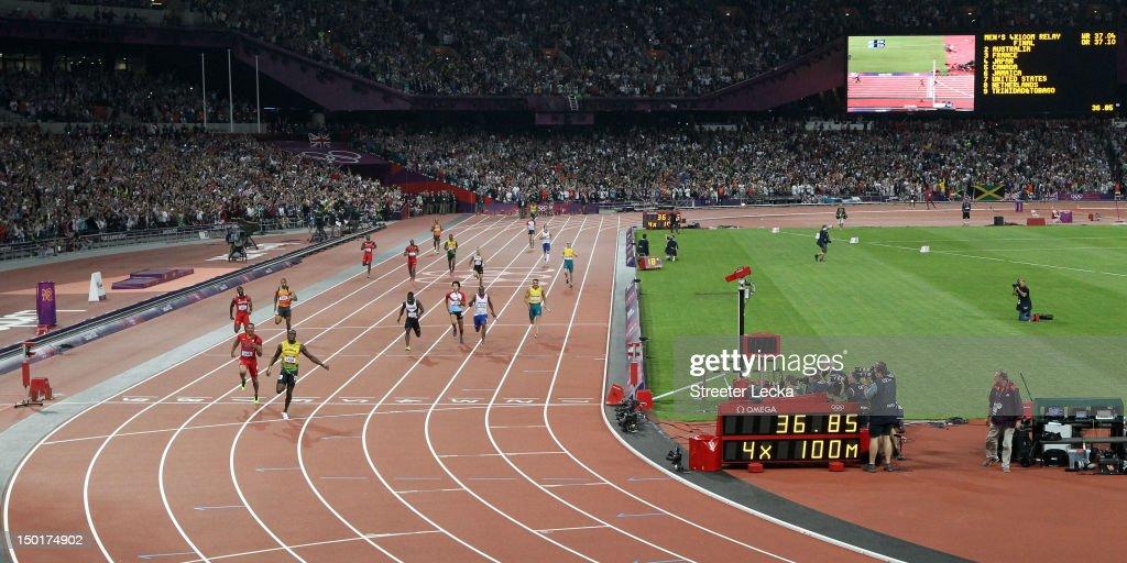 Olympics Day 15 - Athletics : News Photo