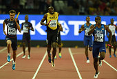 usain bolt jamaica compete his last