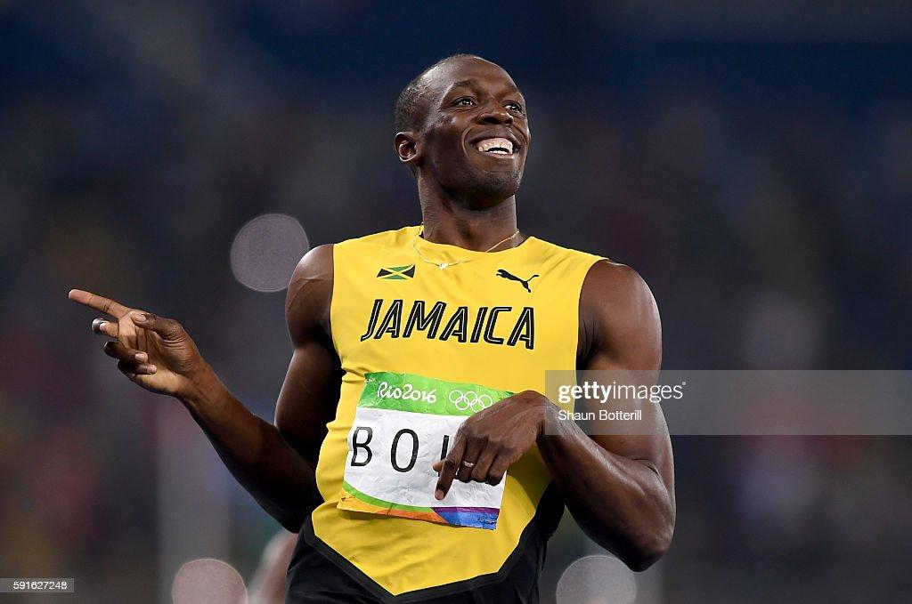 Athletics - Olympics: Day 12 : Nachrichtenfoto