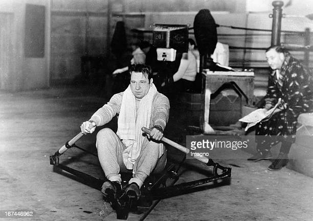 USamerican actor Wallace Beery has to reduce his weight for the role in the film FLESH 1932 Photograph Der amerikanische Schauspieler Wallace Beery...