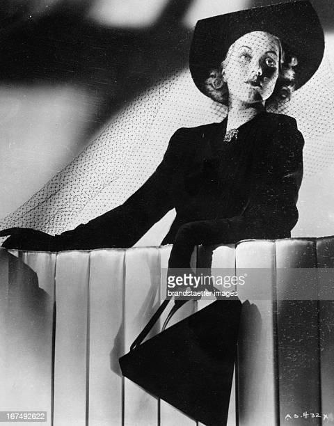 USamerican actress Ann Sothern 1938 Photograph Die USamerikanische Schauspielerin Ann Sothern 1938 Photographie