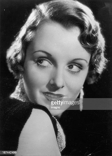 USamerican actress Mary Astor 1934 Photograph Die USamerikanische Schauspielerin Mary Astor 1934 Photographie