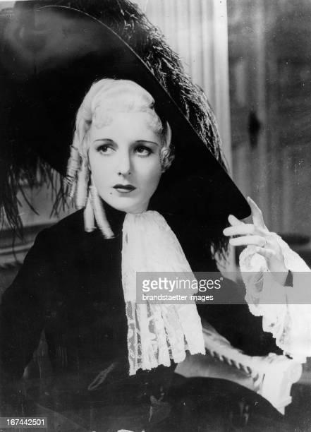 USamerican actress Mary Astor About 1935 Photograph Die USamerikanische Schauspielerin Mary Astor Um 1935 Photographie