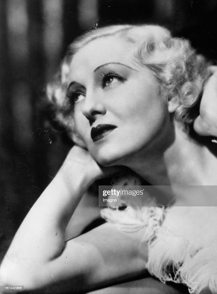 US-american actress Peggy Hopkins Joyce. 1934. Photograph. (Photo by Imagno/Getty Images) Die US-amerikanische Schauspielerin Peggy Hopkins Joyce. 1934. Photographie.