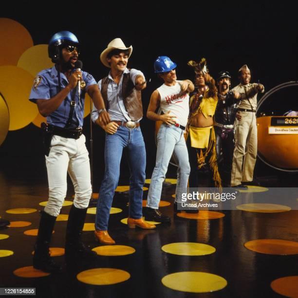 American Disco Band Auftritt in der ZDF Quizsendung Der Grosse Preis