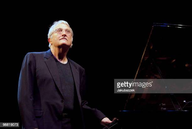 American singer and composer Randy Newman performs live during a concert at the Admiralspalast on May 3 2010 in Berlin Germany The concert is part of...