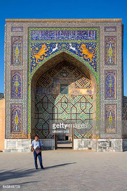 UZB Usbekistan Uzbekistan Samarkand die Hauptstadt von Tamerlan 2500 Jahre alte Geschichte das Rom des Ostens Unesco Welterbe Weltkulturerbe Hodschah...