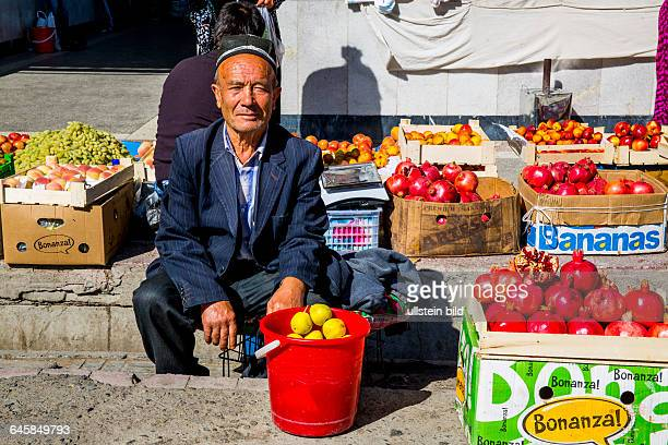UZB Usbekistan Uzbekistan Samarkand die Hauptstadt von Tamerlan 2500 Jahre alte Geschichte das Rom des Ostens Unesco Welterbe Weltkulturerbe Siab...